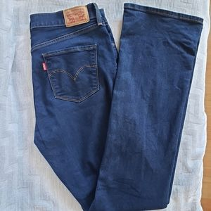 Levi's 315 Shaping Bootcut Mid-Dark Wash Jeans 30